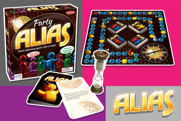 Настольная игра Алиас. Фото с сайта tactic.net