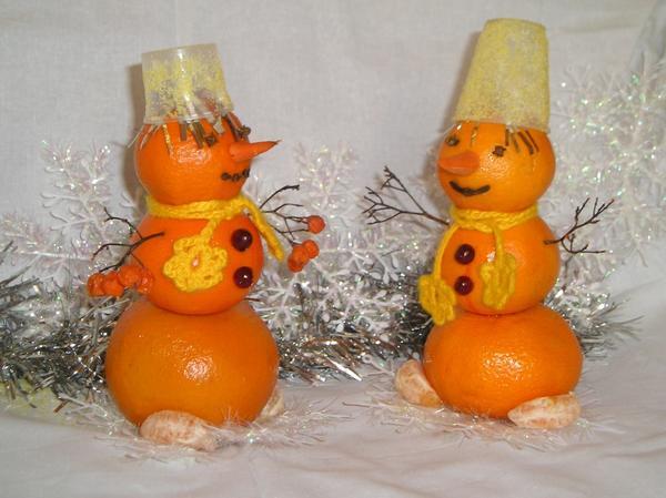 Вкусные снеговички