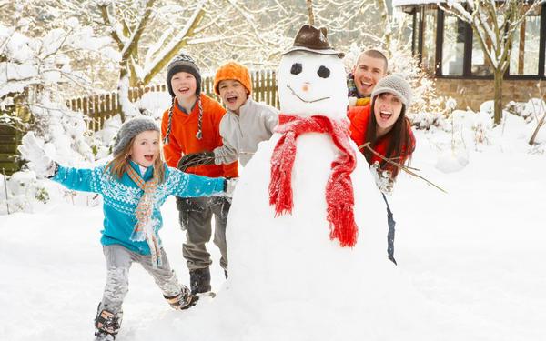С детьми веселее! Фото с сайта wallpaperscraft.com