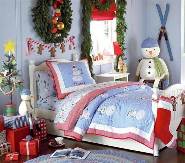 Украшаем детскую комнату к Новому году. Фото с сайта happymodern.ru