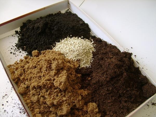Составляющие для почвосмеси