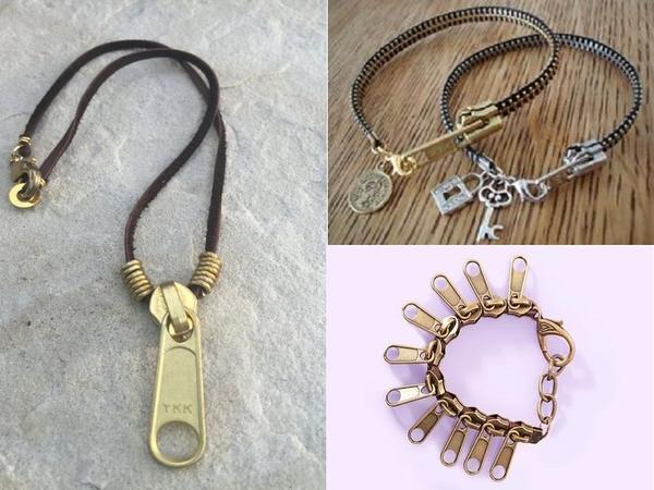 Брелок для ключей из молний. Фото с сайта pinterest.com