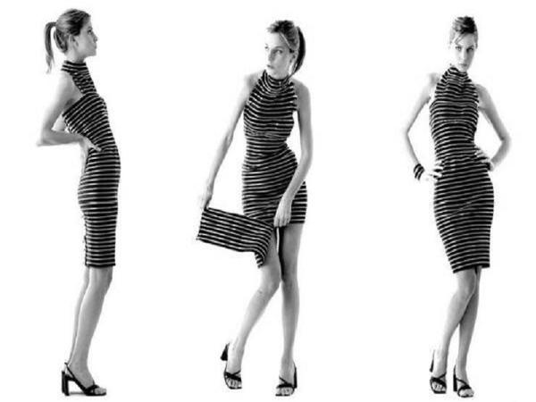 Платье-трансформер из молний. Фото с сайта placepic.ru