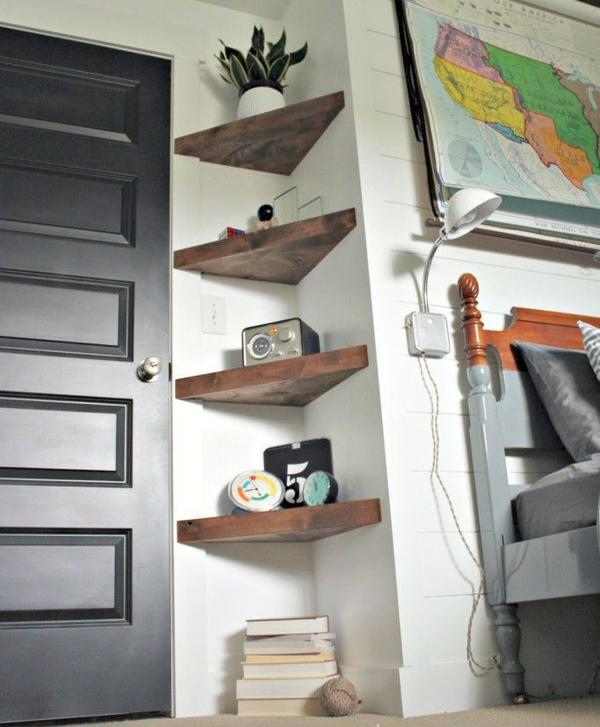 Многоуровневые полочки. Фото с сайта 4men1lady.com