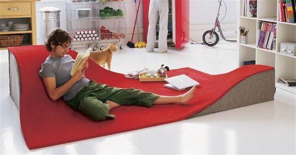 Ковер-диван. Фото с сайта 4living.ru