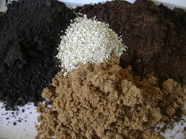 Составляющие почвосмеси
