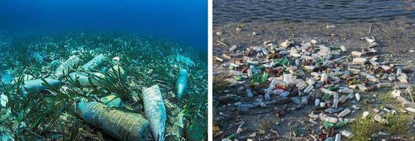 Пластиковые бутылки - мусор. Фото с сайта ru.pinterest.com