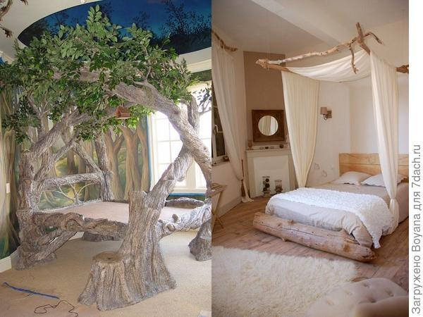 Сказочные деревянные кровати