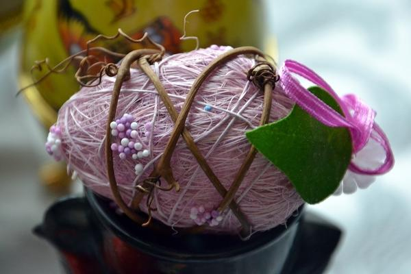 Подарочный сувенир - пасхальное яйцо. Фото с сайта fotki.yandex.ru, автор tatiana.favourable