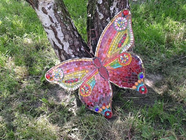 Гигантская красавица -бабочка