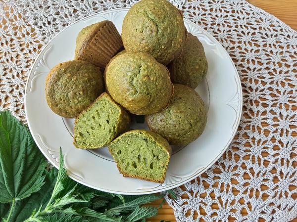 Американские медовые зелёные кексы