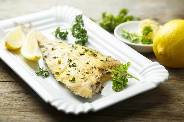 Петрушка - отличное дополнение к рыбе