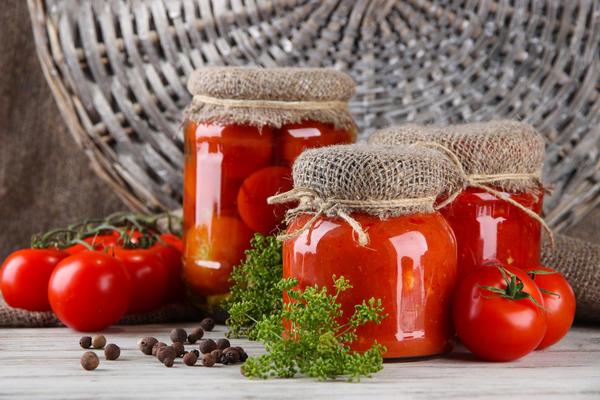 заготовка свежих помидор на зиму