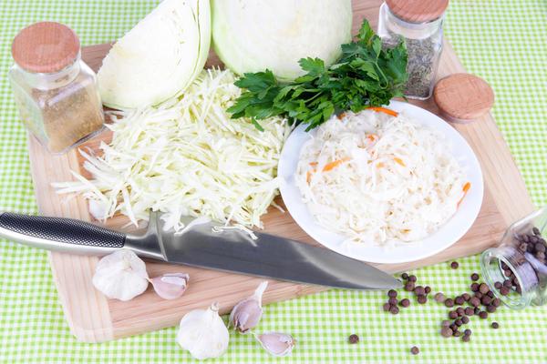 От состава ингредиентов для квашения зависит вкус готового продукта