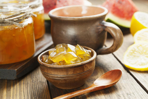 Цукаты из арбузных корок - достойная альтернатива фабричным конфетам