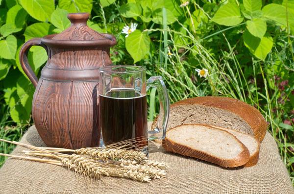 Квас - исконно русский напиток для утоления жажды