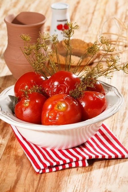 Ароматные маринованные помидорчики