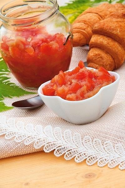Варенье из помидоров с яблоком и лимоном