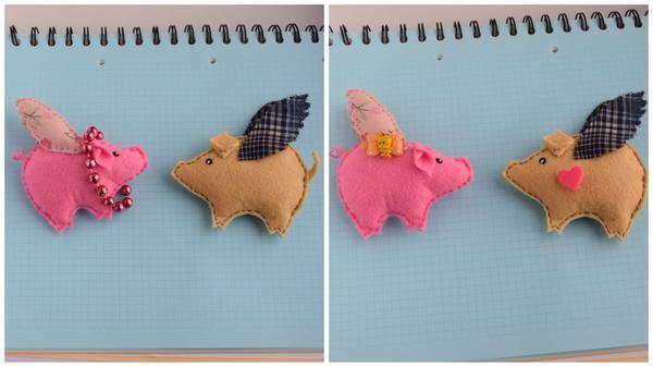 Свинка - на счастье, кабанчик - на удачу