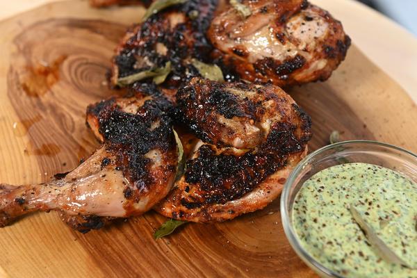 Цыпленок тандури - классика индийской кухни