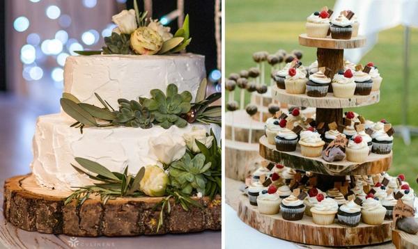 Подставки для тортов и пирожных