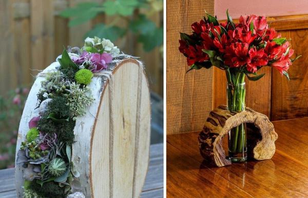 Подставки для ваз или цветочных композиций