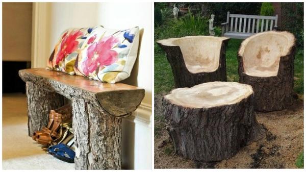 Скамья и садовая мебель