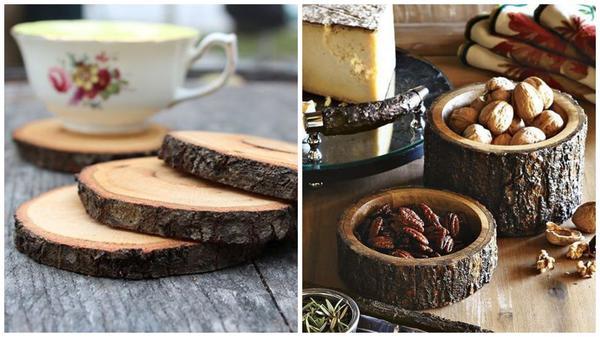 Подставки под чашки и вазочки для орехов