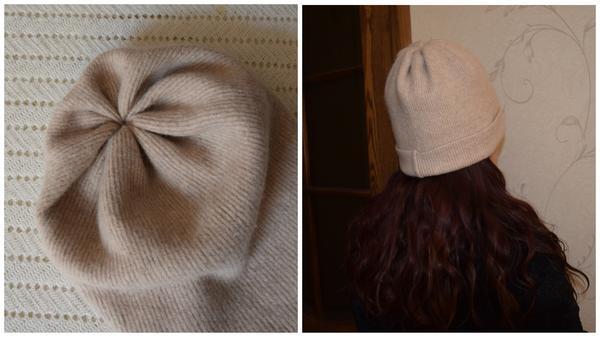 Получилась вполне симпатичная шапочка. Фото автора