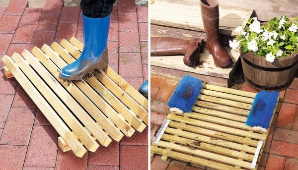 Очаровательные деревянные решетки