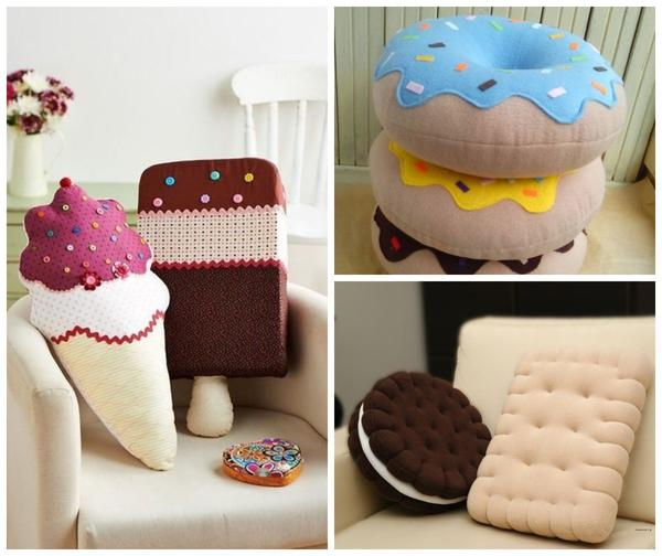 Подушки для сладкоежек
