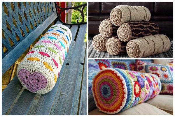 Очень удобные подушки-валики