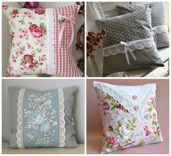Милые романтичные подушечки