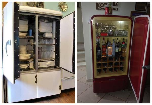 Шкаф для посуды или мини-бар - отличные идеи!