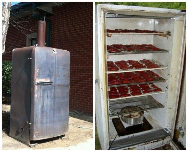 Вот уж не думал холодильник, что его такое ждет во второй жизни
