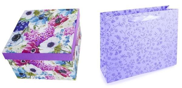 Изящные идеи для упаковки женских подарков. Фото с сайта fix-price.ru