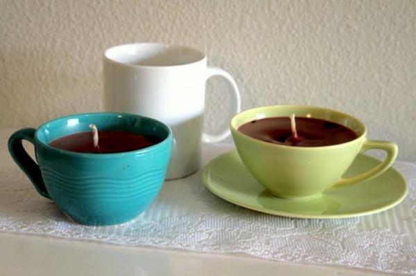 Свечи из чашек. Фото с сайта eticamente.net