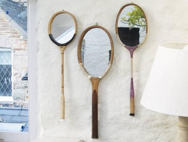 Зеркала из теннисных ракеток. Фото с сайта s-media-cache-ak0.pinimg.com