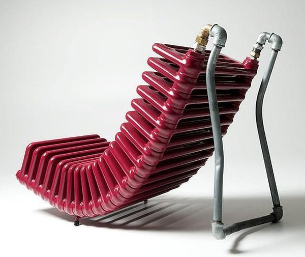 Кресло из радиатора. Фото с сайта s-media-cache-ak0.pinimg.com