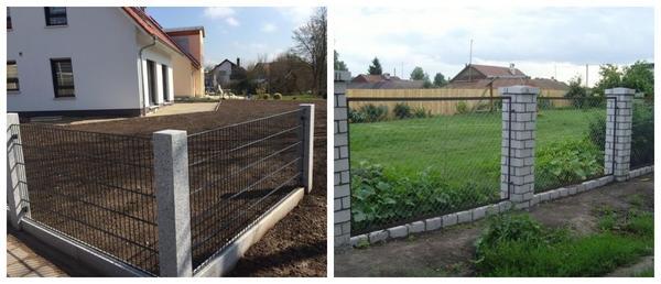 Такой забор будет легко модернизировать