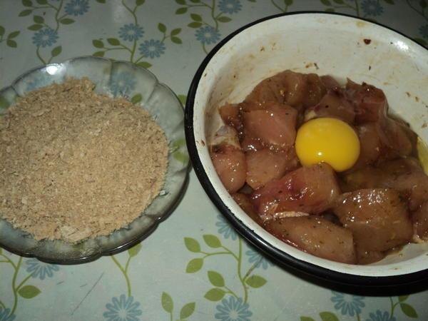 Наггетсы диетические в духовке - пошаговый рецепт приготовления с фото