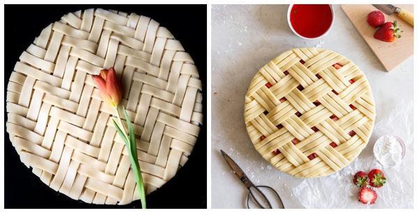 Плетенки всегда будут украшать пироги
