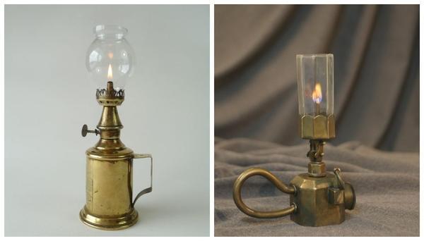 Защитное стекло для светильника с открытым огнем - важная деталь