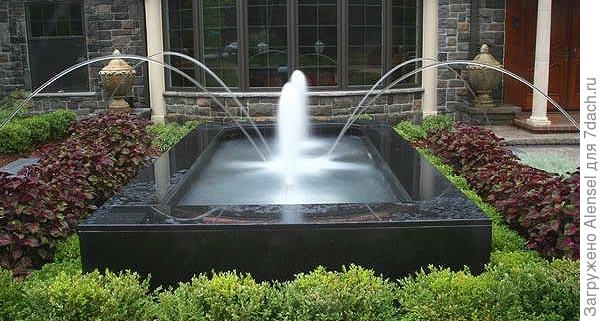 фонтан тиффани