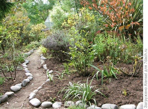 Садовая дорожка-тропа