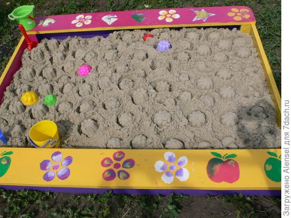 Раскрашиваем песочницу