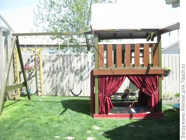 Детский домик 3