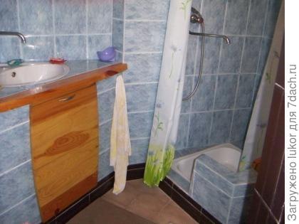 умывальник и душ