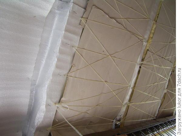 Подшивка крыши на балконе