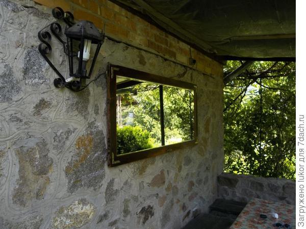зеркало - окно в сад